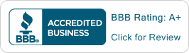 BBB Accredited Business / BBB Rating: A